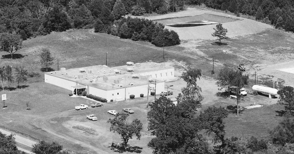 Vintage Aerial photo from 1984 in Crawford County, AR