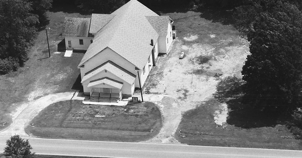 Vintage Aerial photo from 1988 in Florence County, SC