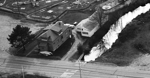 Vintage Aerial photo from 1989 in Fulton County, NY