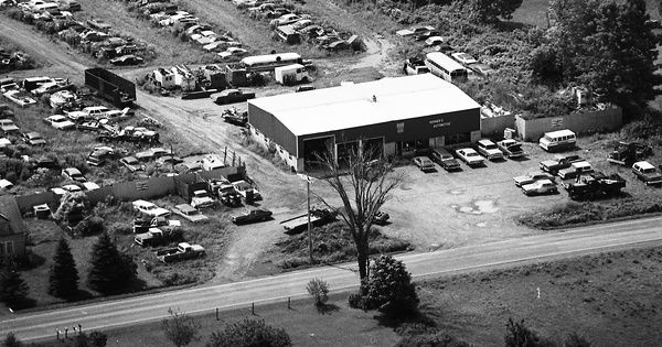 Vintage Aerial photo from 1981 in Onondaga County, NY
