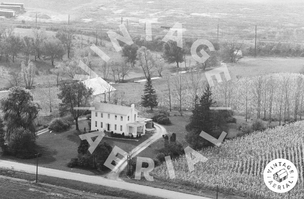 Vintage Aerial | Ohio | Darke County | 1967 | 96-CDA-29