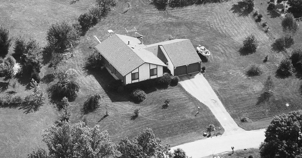Vintage Aerial photo from 1984 in Cecil County, MD
