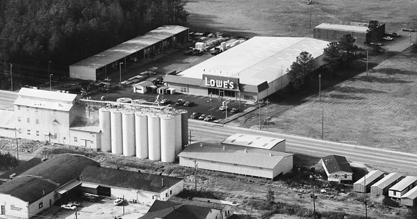Vintage Aerial photo from 1983 in Greenwood County, SC